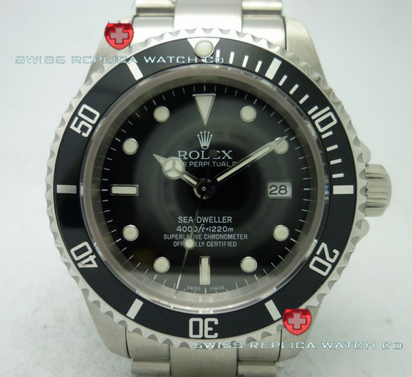 Swiss Replica Rolex Sea Deweller SS