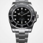 Swiss Replica Rolex Submariner SS No Date Ceramic