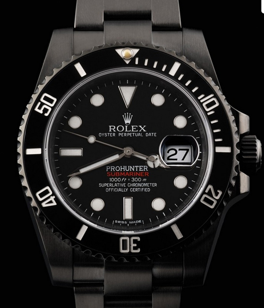 Swiss Replica Submariner Pro Hunter PVD