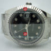 swiss Replica Rolex Datejust SS Black Diamonds