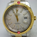 Replica Rolex Datejust 2Tone White
