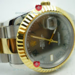 Replica Rolex Datejust 2Tone Black Roman
