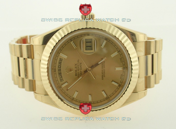 Replica Rolex Day-Date Gold Gold