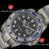 Swiss Replica Rolex GMT-Master II Blue Ruby SS