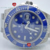 Swiss Replica Rolex Submariner SS Blue Ceramic