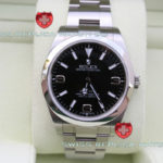 Swiss Replica Rolex Explorer II SS Black