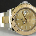 Replica 2-Tone Yachtmaster Gold Dial