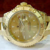 Swiss Replica Rolex Gold Yachtmaster Gold Dial
