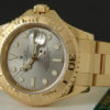 Swiss Replica Rolex Gold Yachtmaster Slate Dial