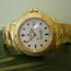 Swiss Replica Rolex Yacht-Master Gold White
